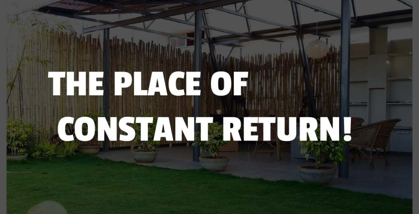 the place for constant return
