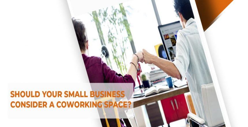 why should small business consider coworking